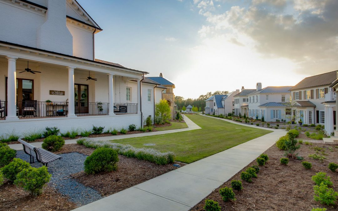Eye-Catching Architecture, Sweeping Green Spaces – Hartness